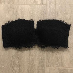 NWOT Aerie strapless lace bra!